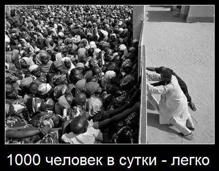 1000 посетителей в сутки - легко