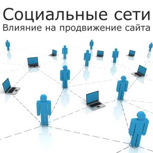 Социальные сети и продвижение сайта