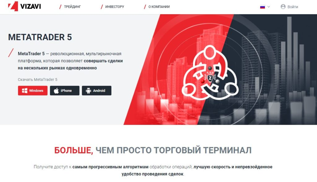 Vizavi - высокотехнологичный и доходный брокер vizavi.com