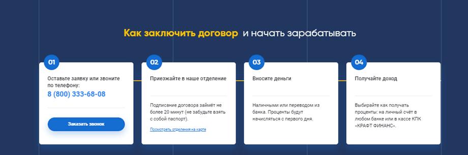 КПК КРАФТ ФИНАНС, kraftfinance.ru