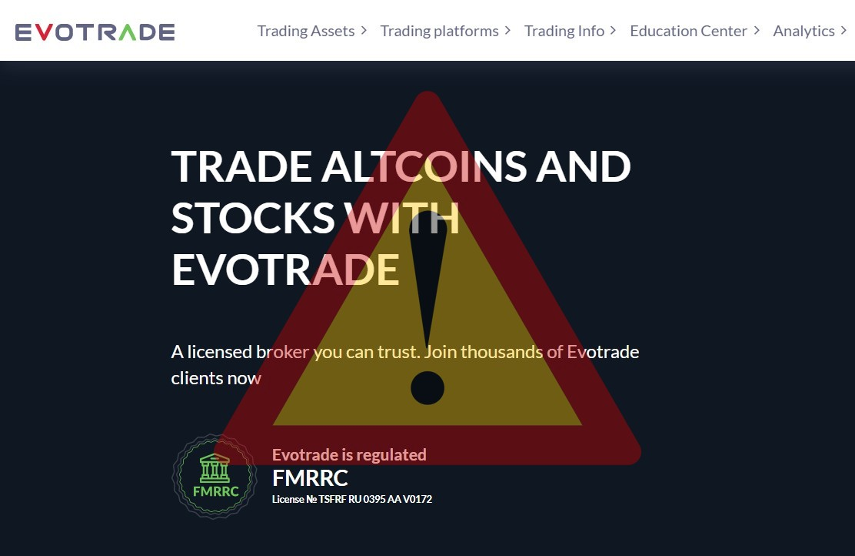 evotrade.com
